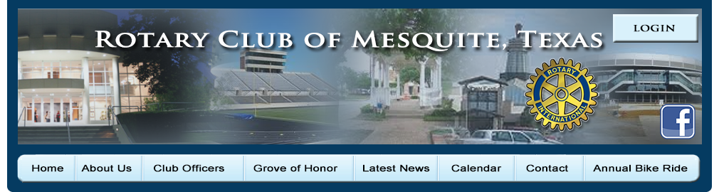 Mesquite Texas Rotary Club A Local Unit Of Rotary